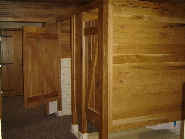 Z-batten doors and partician walls & Lake James Camp   Architectural Woodcraft Pezcame.Com