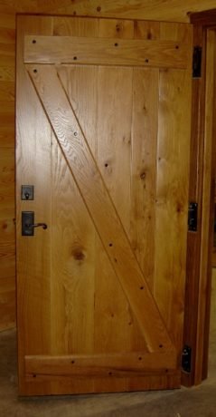Tongue and groove door plans