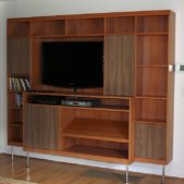 wall shelving system
