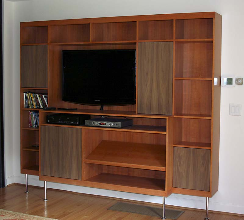 Mid-Century Modern Entertainment Center | Architectural ...
