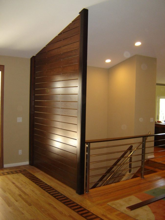 Walnut Accent Wall Architectural Woodcraft